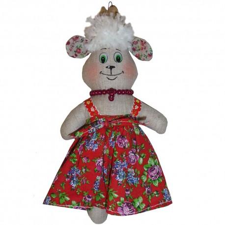 Кукла-подвеска Коза (высота 25 см.)