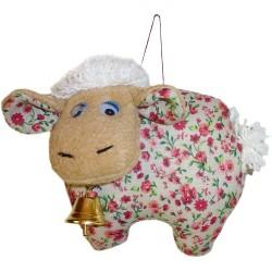 Кукла-подвеска Овца (высота 11 см.)