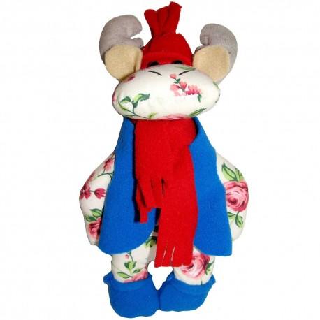 Кукла-подвеска Лось (высота 23 см.)