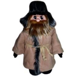 Кукла славянская Похомыч в тулупе (высота 56 см.)