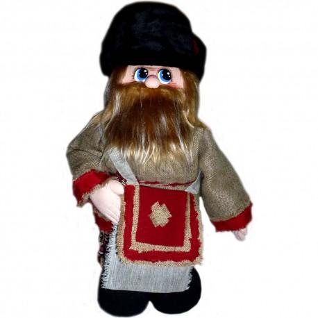 Кукла славянская Похомыч с котомкой (высота 56 см.)